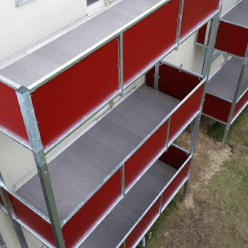 Sehr Mega Paneelsystem - TOPERO - Der Balkonbelag für Generationen MY85